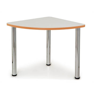 Image for QUORUM GEOMETRY MEETING TABLE QUARTER ROUND 750MM from Office National Capalaba