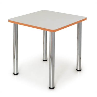 Image for QUORUM GEOMETRY MEETING TABLE SQUARE 750 X 750MM from Office National Capalaba