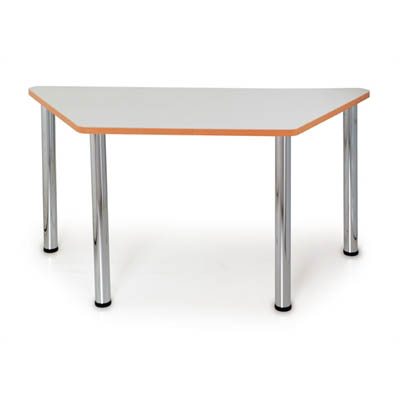Image for QUORUM GEOMETRY MEETING TABLE TRAPEZOID 1500 X 750MM from Office National Capalaba