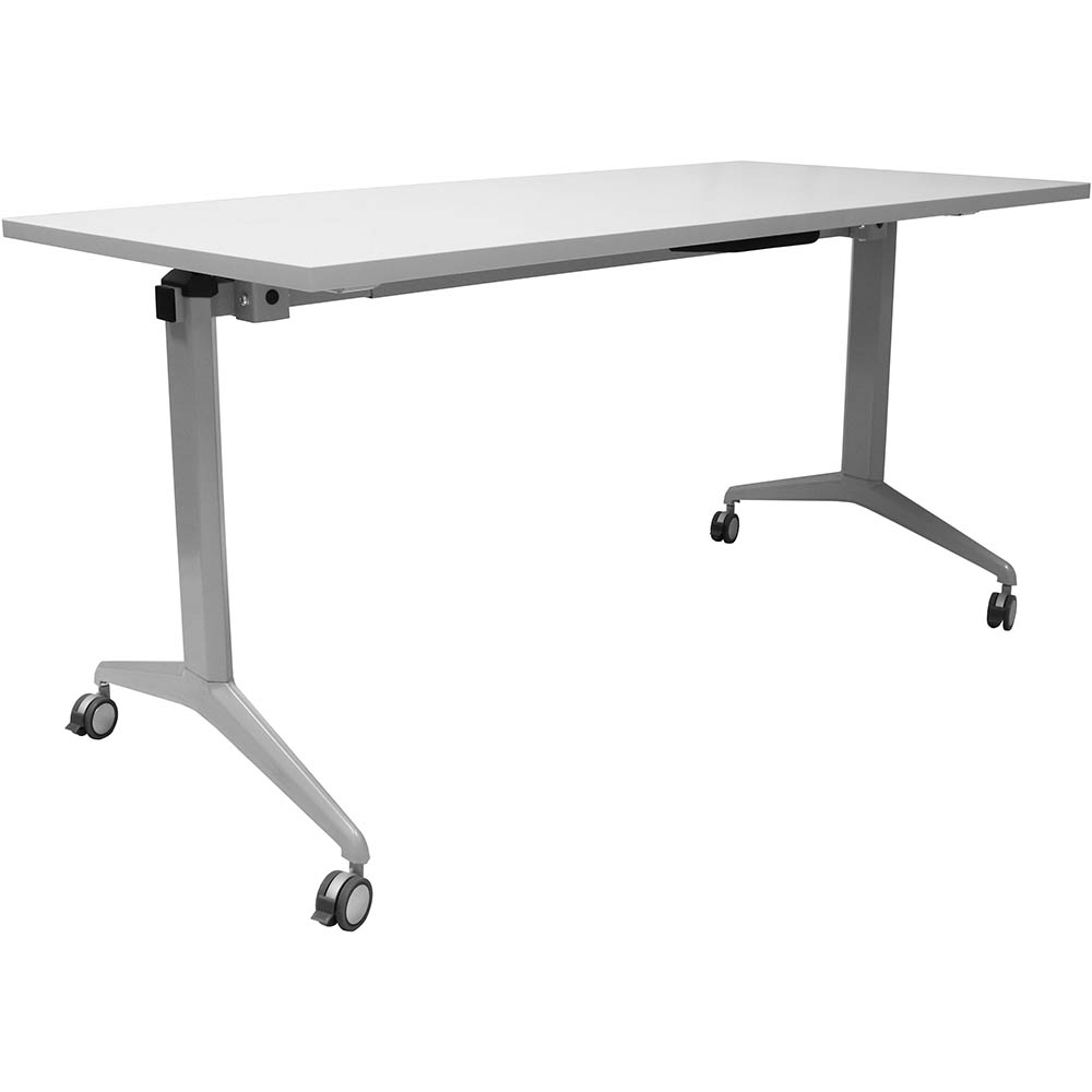 Image for RAPIDLINE FLIP TOP TABLE 1500 X 750MM GREY from Mackay Business Machines (MBM)
