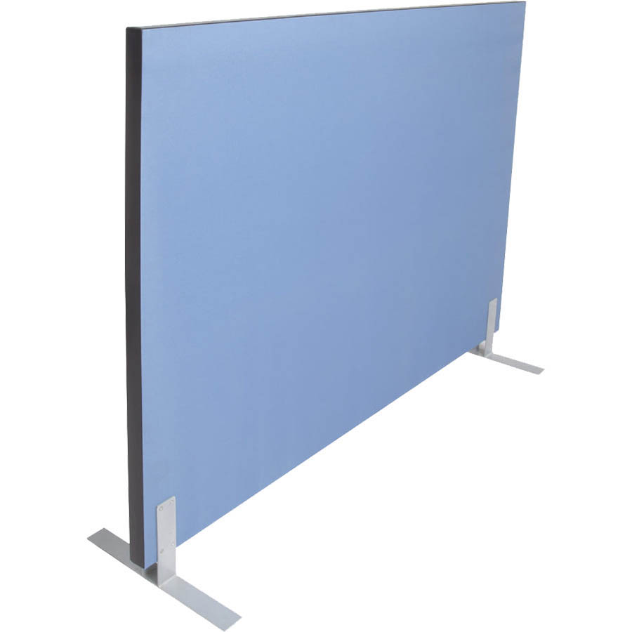 Image for RAPIDLINE ACOUSTIC SCREEN 1500 X 1800MM BLUE from Wetherill Park / Smithfield Office National