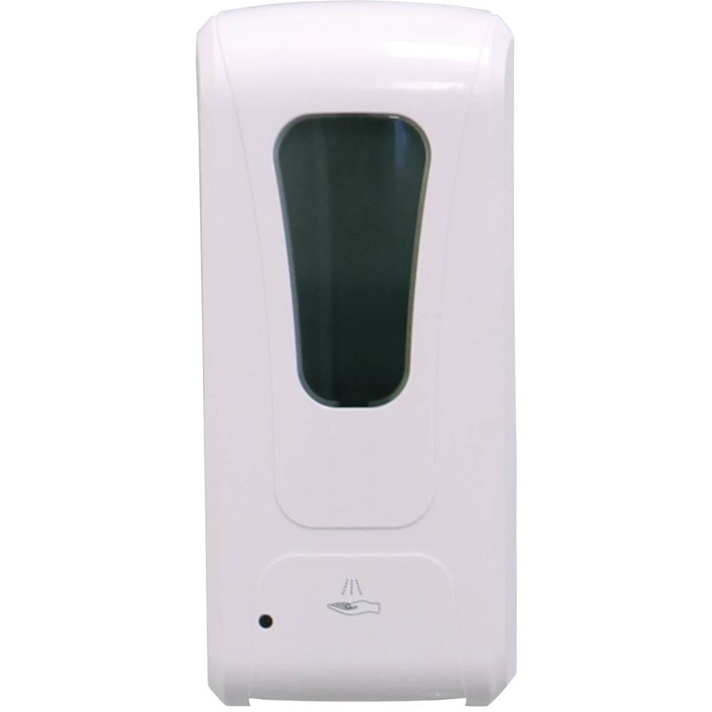 Image for RAPIDLINE AUTOMATIC HAND SANITISER DISPENSER WHITE from Copylink Office National