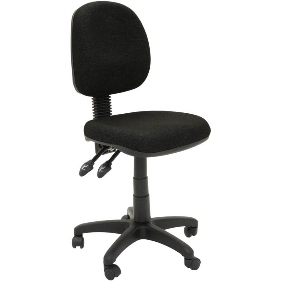 Image for INITIATIVE OPERATOR CHAIR MEDIUM BACK 3 LEVER SF BLACK from Copylink Office National