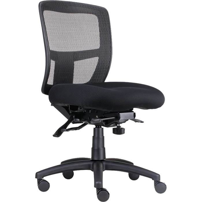 Image for RAPIDLINE ERGO TASK CHAIR MESH BACK BLACK from Copylink Office National