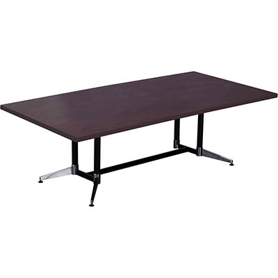 Image for RAPIDLINE TYPHOON BOARDROOM TABLE 2400 X 1200 X 750MM APPLETREE from Wetherill Park / Smithfield Office National