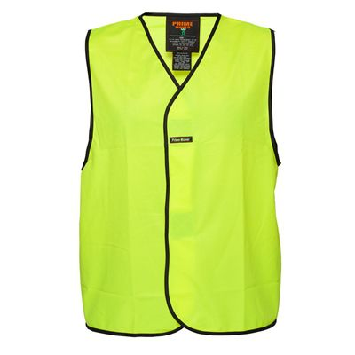 Image for PRIME MOVER MV116 HI VIS VEST DAY USE ONLY from OFFICE NATIONAL CANNING VALE, JOONDALUP & OFFICE TOOLS OPD