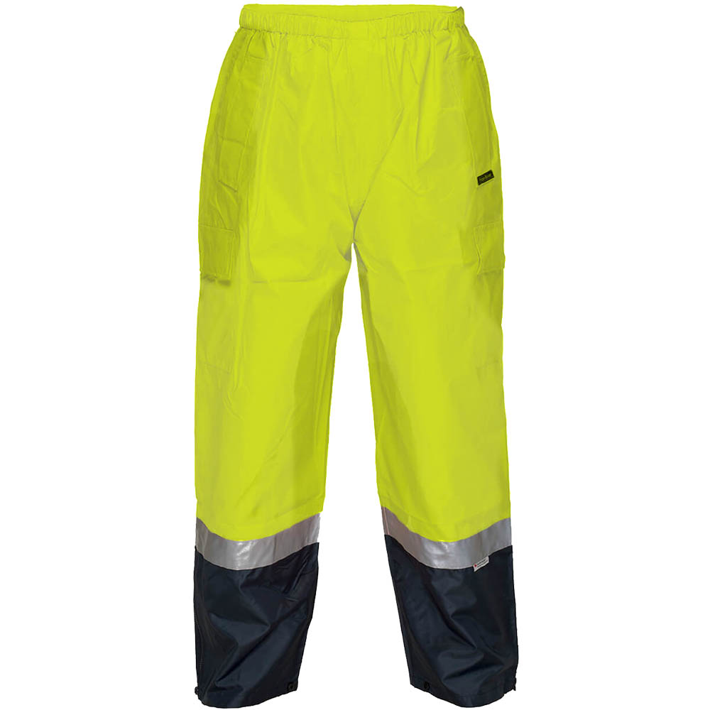 Image for PRIME MOVER HV200 HI VIS WET WEATHER CARGO PANT 3M TAPE from Ezi Office Supplies Gold Coast