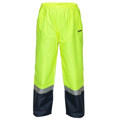 Image for PRIME MOVER HV202 HI VIS WET WEATHER PULL ON PANT 3M TAPE from Office National Capalaba