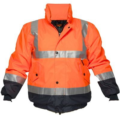 Image for PRIME MOVER HV204 HI VIS WATERPROOF DAY/NIGHT JACKET WITH ZIP 2 TONE from OFFICE NATIONAL CANNING VALE, JOONDALUP & OFFICE TOOLS OPD