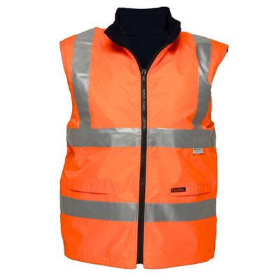 Image for PRIME MOVER HV214 HI VIS VEST WATERPROOF POLAR FLEECE LINED DAY/NIGHT from OFFICE NATIONAL CANNING VALE, JOONDALUP & OFFICE TOOLS OPD