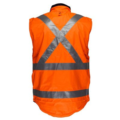Image for PRIME MOVER HV214X POLAR FLEECE VEST REVERSIBLE WATERPROOF LINED DAY/NIGHT X BACK from OFFICE NATIONAL CANNING VALE, JOONDALUP & OFFICE TOOLS OPD
