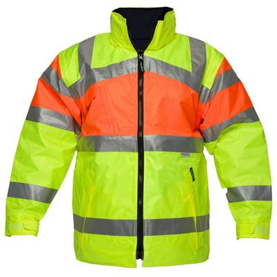 Image for PRIME MOVER MJ301 ZIP-OUT REVERSIBLE JACKET WITH TAPE 2 TONE from OFFICE NATIONAL CANNING VALE, JOONDALUP & OFFICE TOOLS OPD