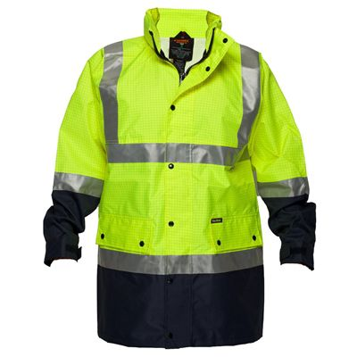 Image for PRIME MOVER MJ370 ANTI STATIC RAIN JACKET WITH TAPE 2 TONE from OFFICE NATIONAL CANNING VALE, JOONDALUP & OFFICE TOOLS OPD