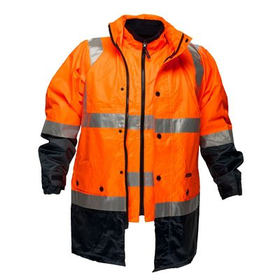 Image for PRIME MOVER MJ881 DAY/NIGHT HI VIS 4-IN-1 TAPE ZIP JACKET 2 TONE from OFFICE NATIONAL CANNING VALE, JOONDALUP & OFFICE TOOLS OPD