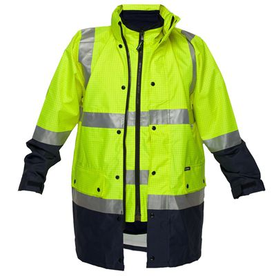 Image for PRIME MOVER MJ887 ANTI STATIC 4-IN-1 JACKET WITH ZIP 2 TONE from OFFICE NATIONAL CANNING VALE, JOONDALUP & OFFICE TOOLS OPD