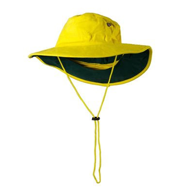 Image for PRIME MOVER MC601 HI VIS HAT COTTON WIDE BRIM from Office National Barossa