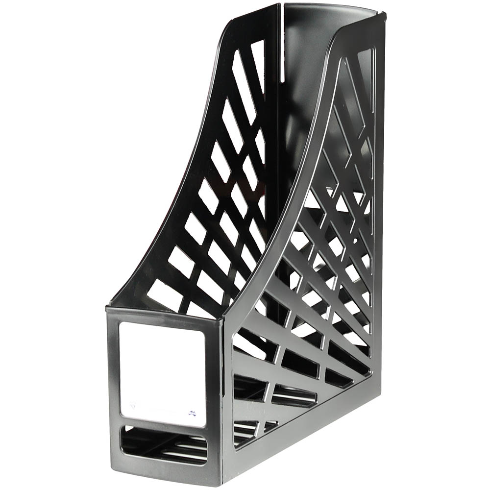 Image for ITALPLAST GREENR MAGAZINE STAND BLACK from Axsel Office National