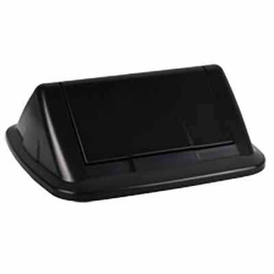 Image for ITALPLAST GREENR SWING TOP LID BLACK from Axsel Office National