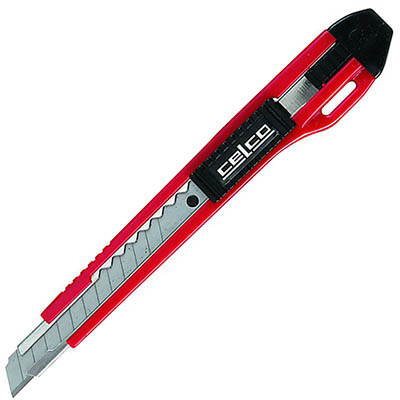 Image for CELCO MEDIUM WEIGHT AUTO LOCK KNIFE 9MM from OFFICE NATIONAL CANNING VALE, JOONDALUP & OFFICE TOOLS OPD