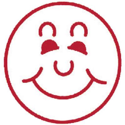 Image for DESKMATE MERIT STAMP SMILEY FACE RED from Office National Kalgoorlie