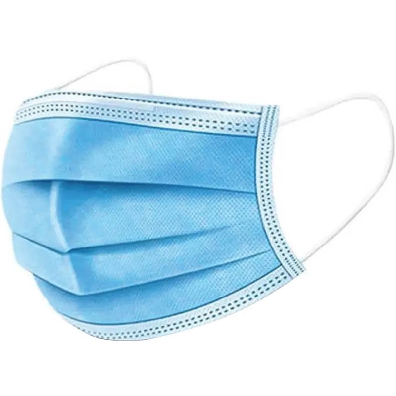 Image for REGAL DISPOSABLE FACE MASK 3 PLY L1 LIGHT BLUE BOX 50 from OFFICE NATIONAL CANNING VALE, JOONDALUP & OFFICE TOOLS OPD