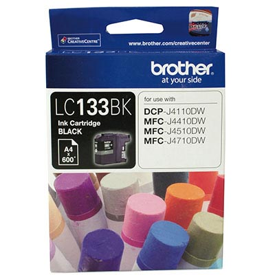 Image for BROTHER LC133BK INK CARTRIDGE BLACK from Office National Hobart