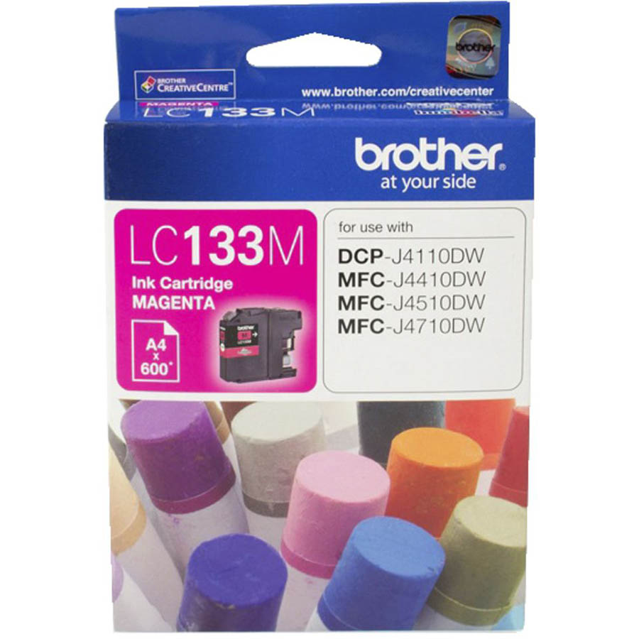Image for BROTHER LC133M INK CARTRIDGE MAGENTA from Office National Hobart