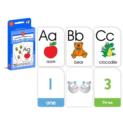 Image for LEARNING CAN BE FUN FLASHCARDS ALPHABET AND NUMBERS 1-10 from Wetherill Park / Smithfield Office National