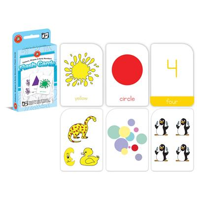 Image for LEARNING CAN BE FUN FLASHCARDS COLOURS, SHAPES AND EARLY NUMBERS from Wetherill Park / Smithfield Office National