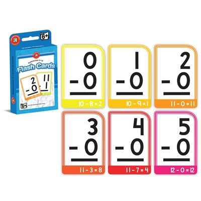 Image for LEARNING CAN BE FUN FLASHCARDS SUBTRACTION 0-15 from Wetherill Park / Smithfield Office National