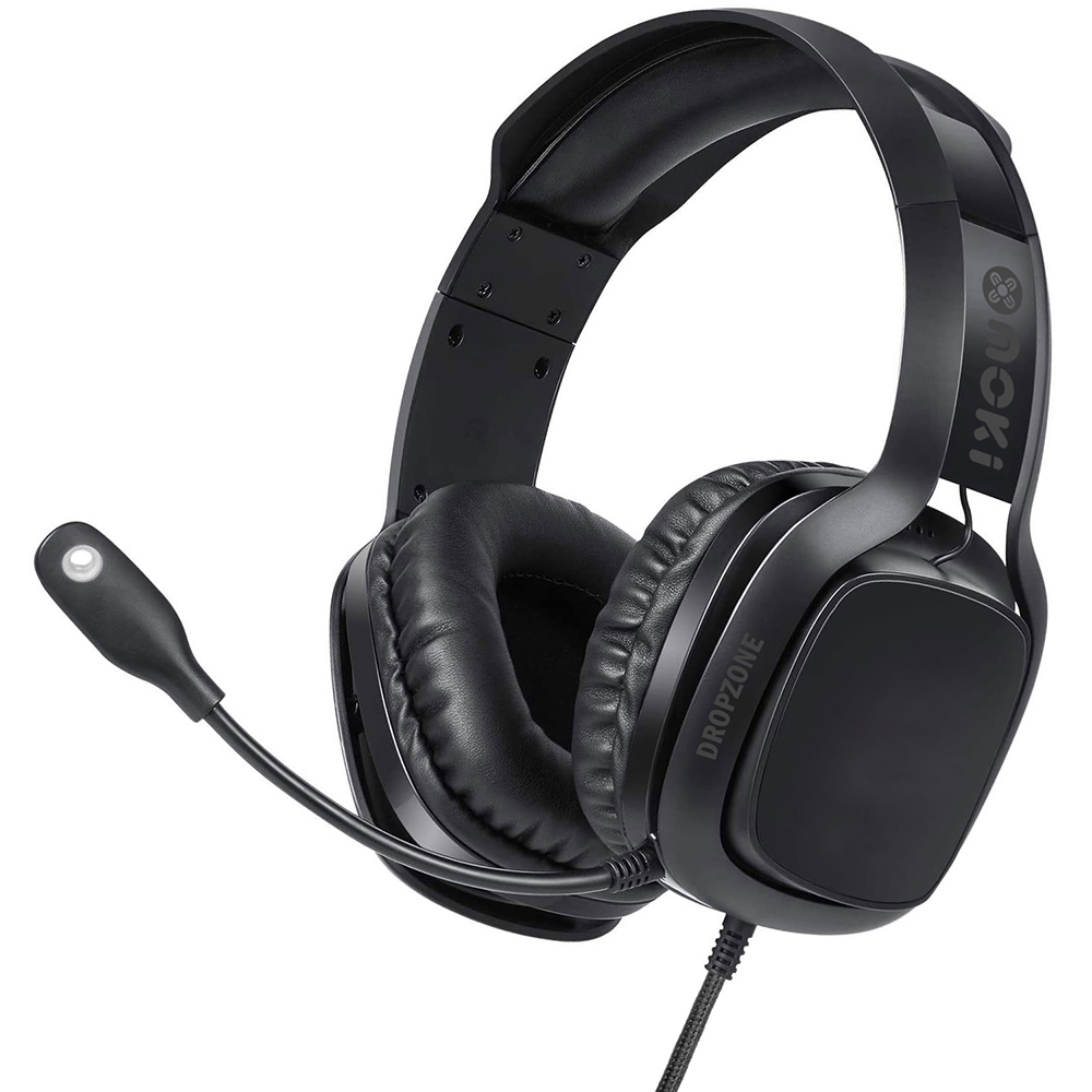 Image for MOKI DROPZONE GAMING HEADPHONES SHADOW BLACK from Copylink Office National