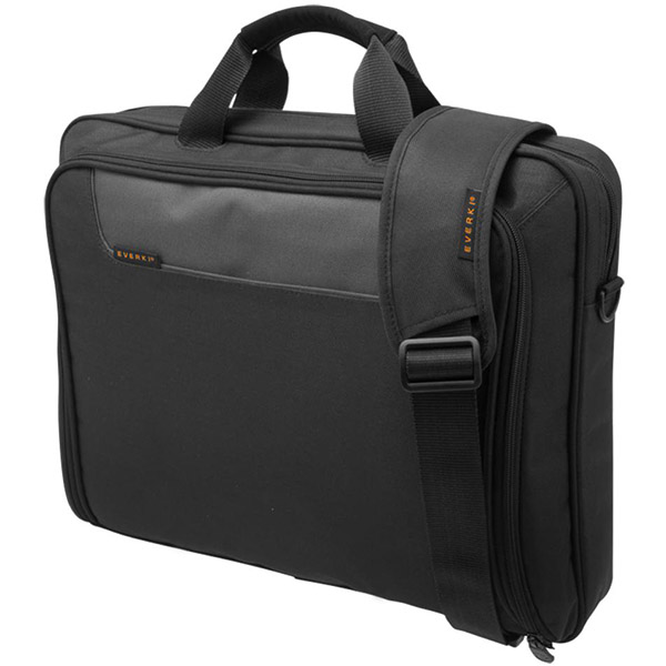 Image for EVERKI ADVANCE COMPACT BRIEFCASE 16 INCH BLACK from Office National Perth CBD