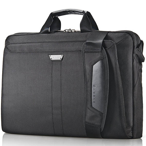 Image for EVERKI LUNAR BRIEFCASE 18.4 INCH BLACK from Mackay Business Machines (MBM)