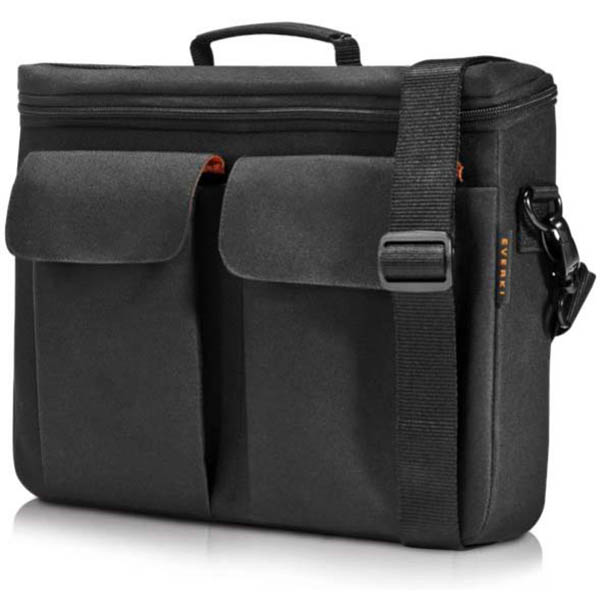 Image for EVERKI RUGGEDIZED EVA LAPTOP BRIEFCASE 14 INCH BLACK from Office National Perth CBD