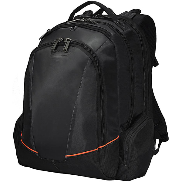 Image for EVERKI FLIGHT BACKPACK CHECKPOINT FRIENDLY 16 INCH BLACK from Mackay Business Machines (MBM)