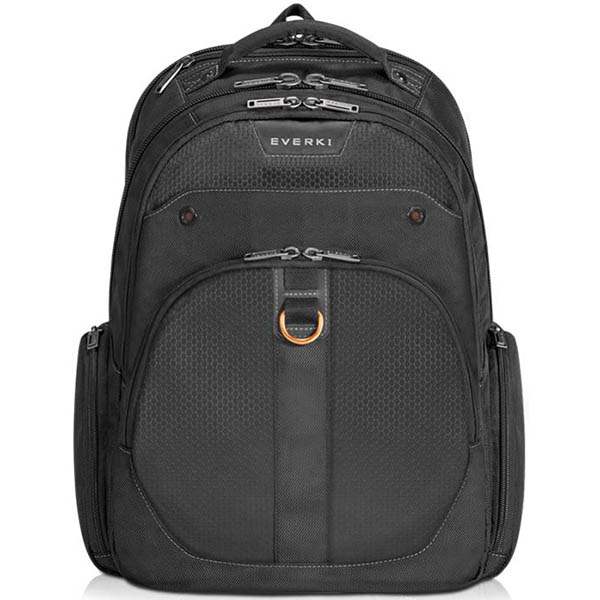 Image for EVERKI ATLAS CHECKPOINT FRIENDLY LAPTOP BACKPACK 15.6 INCH BLACK from Office National Perth CBD