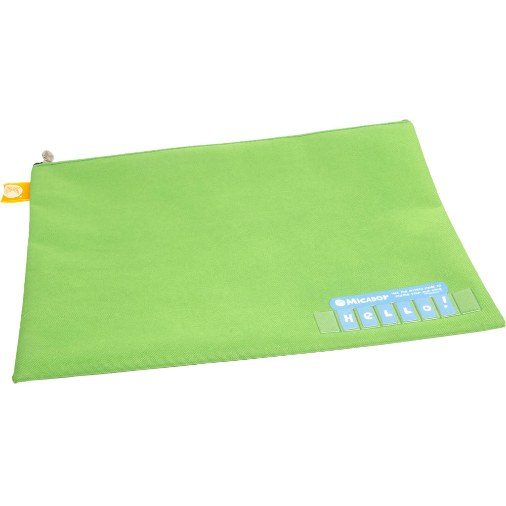 Image for MICADOR NAME PENCIL CASE 375 X 264MM GREEN from Axsel Office National