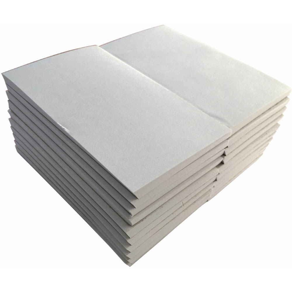 Image for WRITER BANK PAD PLAIN 50GSM 100 SHEETS 125 X 75MM WHITE from Paul John Office National
