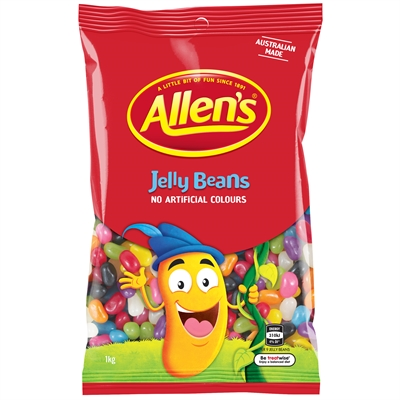 Image for ALLENS JELLY BEANS 1KG from Office National Capalaba