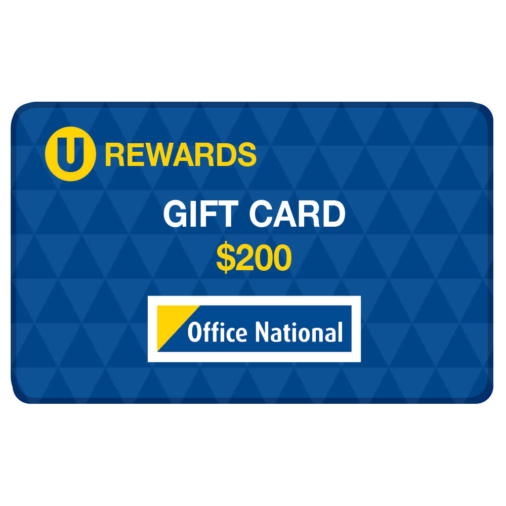 Image for U-REWARDS $200 CREDIT (60000 POINTS REQUIRED) from Page 5 Office National