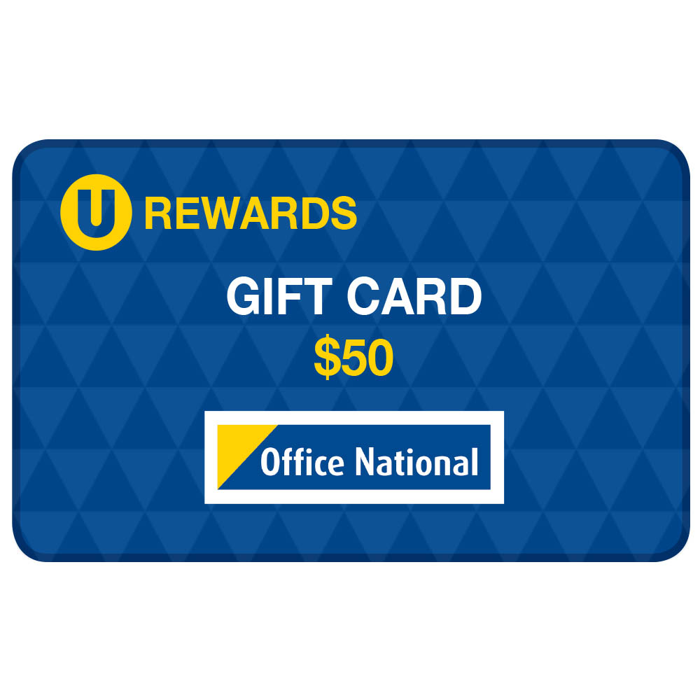 Image for U-REWARDS $50 CREDIT (16000 POINTS REQUIRED) from Page 5 Office National