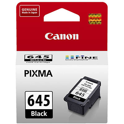 Image for CANON PG645 INK CARTRIDGE BLACK from Connelly's Office National