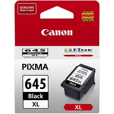 Image for CANON PG645XL INK CARTRIDGE HIGH YIELD BLACK from Office National Hobart