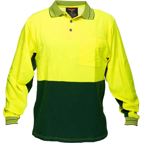 Image for PRIME MOVER HV213 HI VIS POLO SHIRT COTTON BACKED 2 TONE from Office National Capalaba