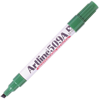 Image for ARTLINE 509A WHITEBOARD MARKER CHISEL 5MM GREEN from Axsel Office National