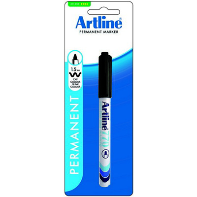 Image for ARTLINE 770 FREEZER BAG MARKER BULLET 1.5MM BLACK HANGSELL from Mackay Business Machines (MBM)
