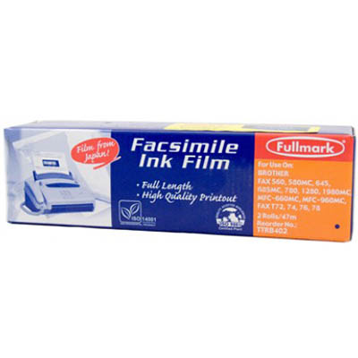 Image for PELIKAN COMPATIBLE SHARP FO3CR FAX FILM REFILL BLACK TWIN PACK from Wetherill Park / Smithfield Office National