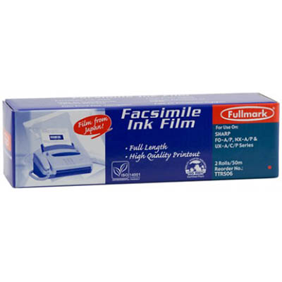 Image for PELIKAN COMPATIBLE SHARP FO6CR FAX FILM REFILL BLACK TWIN PACK from Wetherill Park / Smithfield Office National