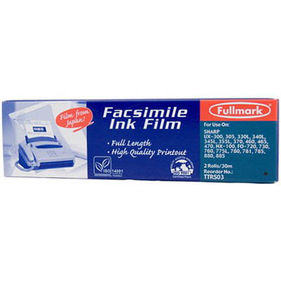 Image for PELIKAN COMPATIBLE PANASONIC TTRP92 FAX FILM REFILL BLACK from OFFICE NATIONAL CANNING VALE, JOONDALUP & OFFICE TOOLS OPD