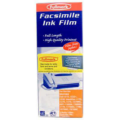 Image for PELIKAN COMPATIBLE BROTHER PC202 FAX FILM REFILL BLACK TWIN PACK from OFFICE NATIONAL CANNING VALE, JOONDALUP & OFFICE TOOLS OPD